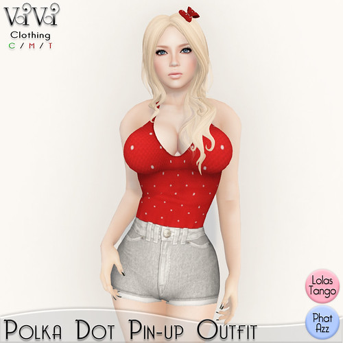 pin up outfit ad