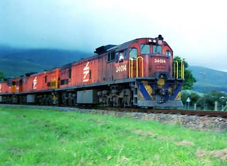 Spoornet Class 34 GE U26C 34-014
