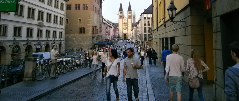 Marathon Würzburg aneb Jak se kluše v Dolních Francích