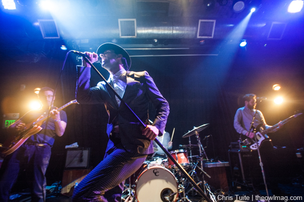 Maxïmo Park @ The Rickshaw Stop, SF 5/15/14