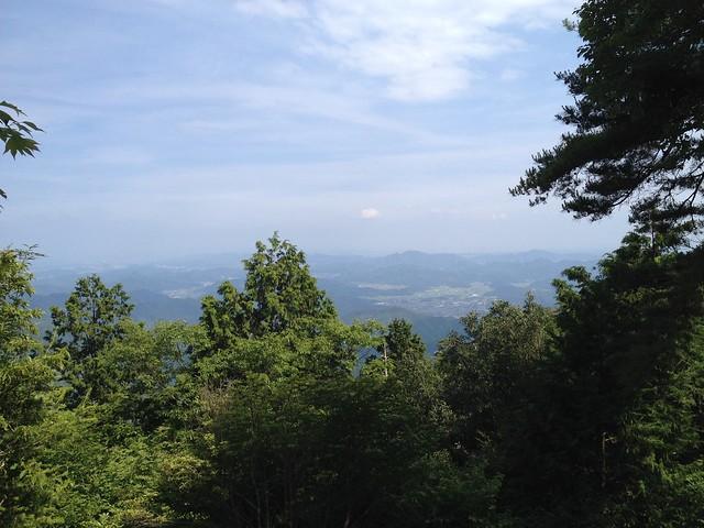 釜ヶ谷山 山頂からの眺望