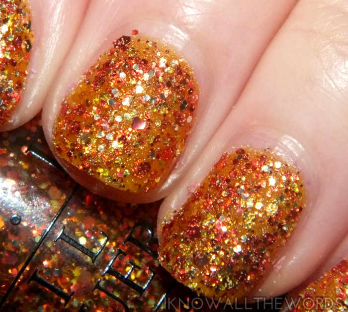 coca-cola by opi swatches- orange you fantastic! (2)