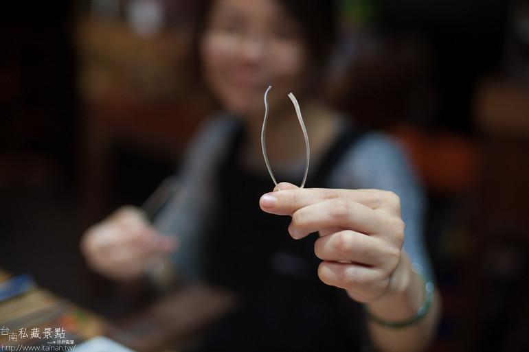 台南私藏景點--小安的店DIY銀飾 (5)