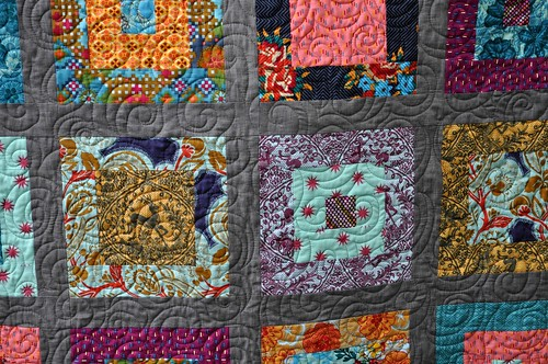 AMH free motion quilting detail