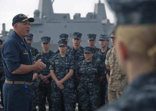 Midshipmen Experience Life aboard USS John Paul Jones