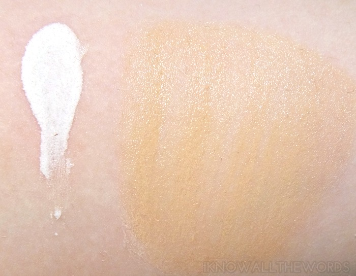 the body shop all in one bb cream 00 lightest skin tones swatch