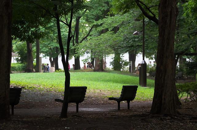 東京路地裏散歩 戸山公園 2014年6月22日