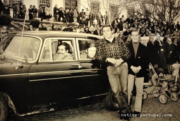 14 - 25 апреля 1974 года - революция гвоздик в Португалии - Каштелу Бранку