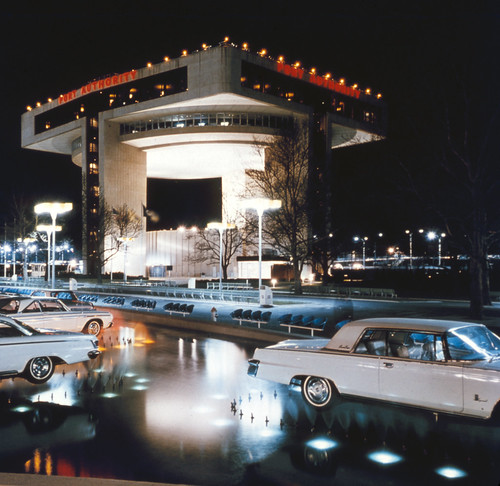 newyork unitedstates slide flushingmeadows kodachrome foundphoto worldsfair 1964