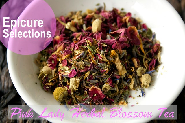 Epicure's Pink Lady Herbal Blossom Tea Review