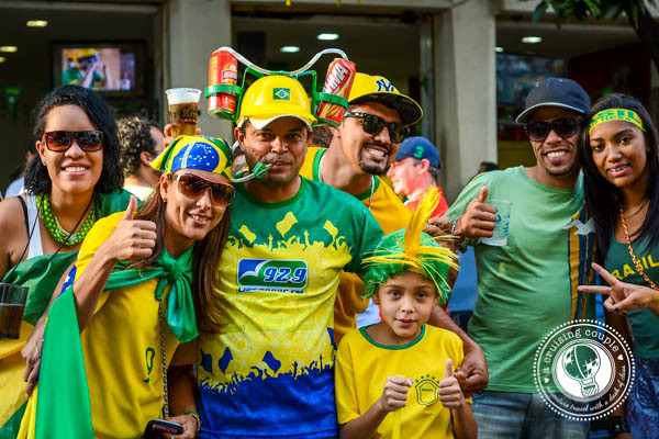 Dressed Up for Brazil World Cup 2014