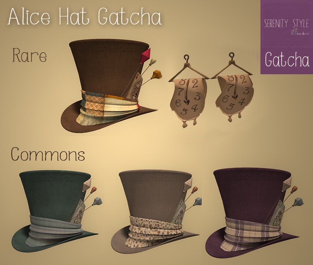 NEW ! Alice Hat Gatcha