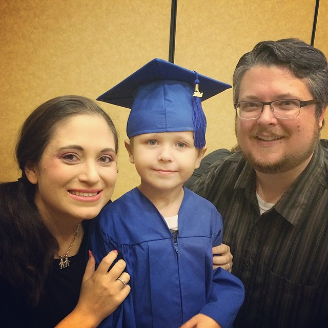 Happy graduation, little Z!