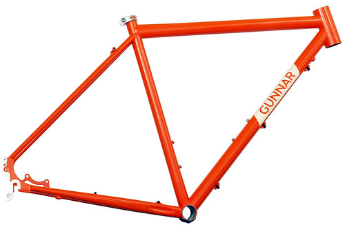 <p>Gunner Hyper-X Disc Cross Bike with 44mm Head Tube in Monarch Orange.  Gunnar's racing disc cross bike, this one fits tapered composite forks.</p>