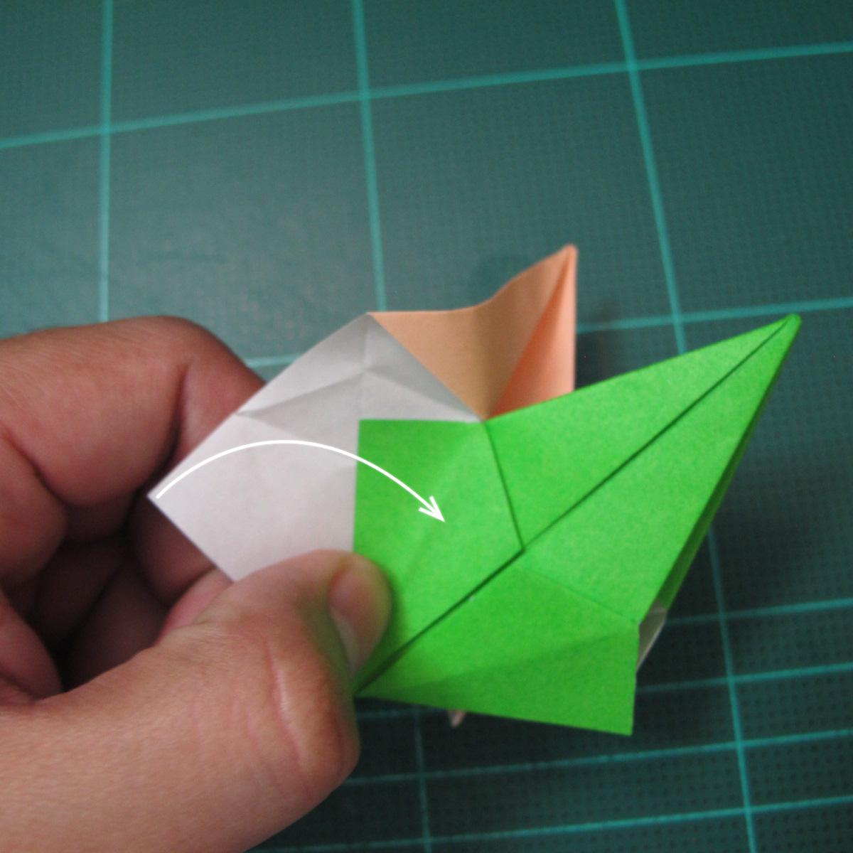 การพับกระดาษแบบโมดูล่าเป็นดาวสปาราซิส (Modular Origami Sparaxis Star) 016