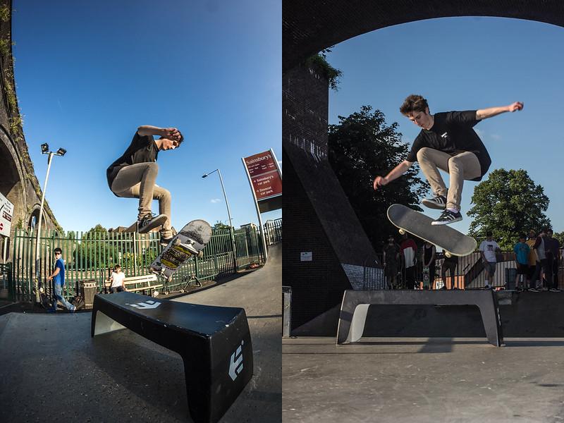 Ali freeman - Tre Flip - Go Skateboarding Day 2014