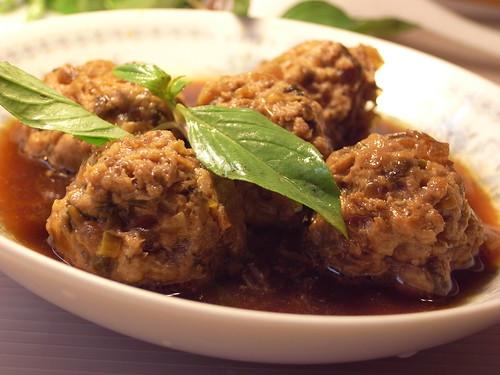 梅乾菜肉丸子