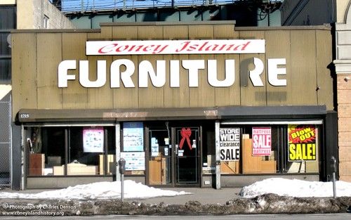 Coney Island Furniture. Photo copyright Charles Denson