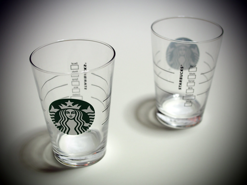Starbucks Coffee® | To Go New Logo Glass