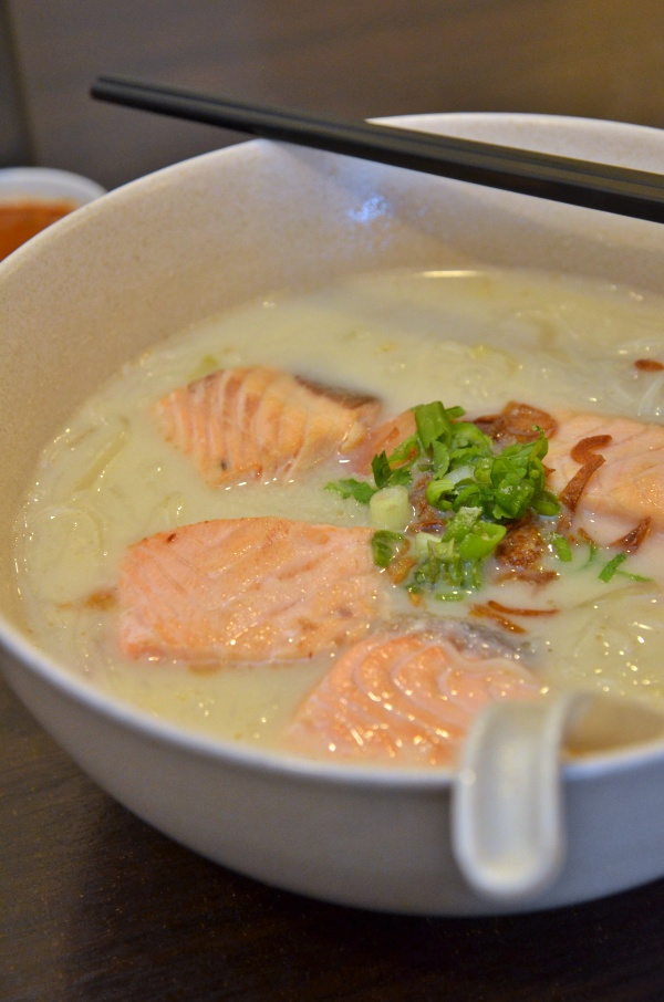 Salmon Fish Noodles