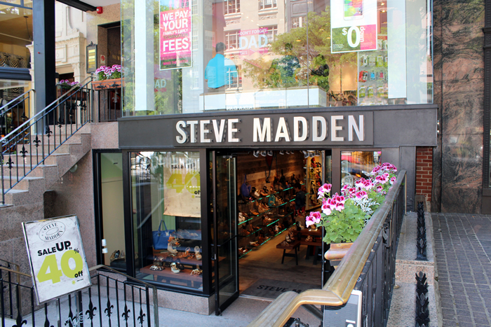 The Stylum Boston Steve Madden