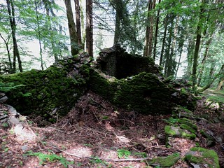 Le sentier du Fer Ruines du Grand champ (1)