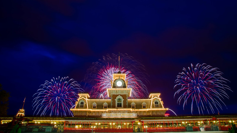 Fourth of July at Magic Kingdom