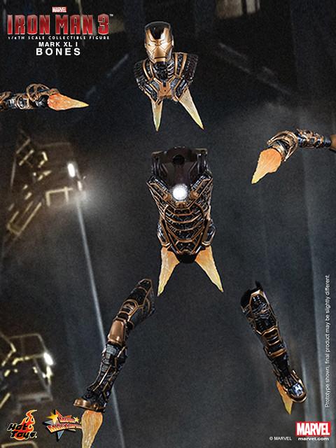 Hot Toys - Iron Man 3 - Bones (Mark XLI) Collectible Figure_PR12