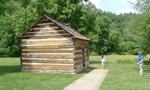 Lincoln Boyhood Home and Friendly Park Service Employee