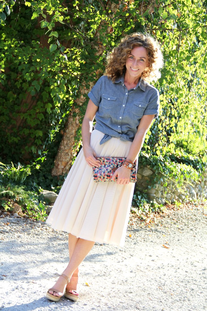 tulle skirt via Kristina J. blog