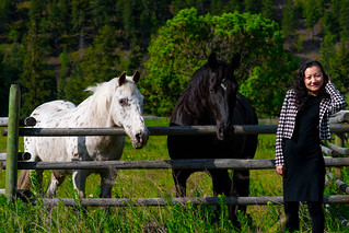 Black and White, Similkameen, 2014