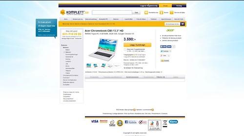 Chromebook cb5 acer