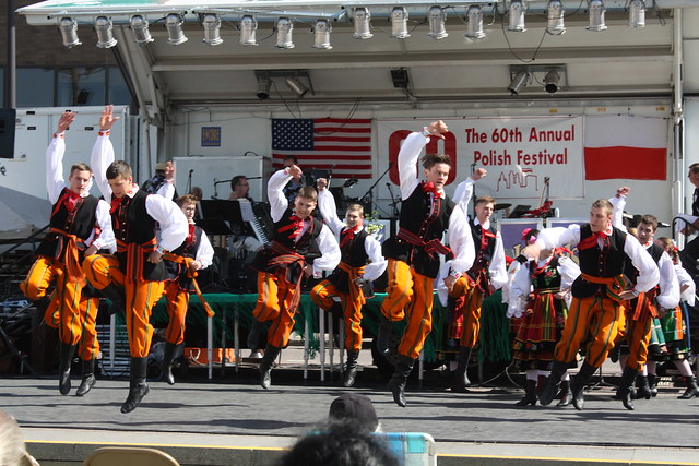 Dancers at the Polish Festival