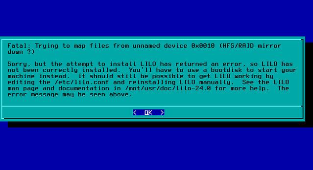 Slackware не поддерживает Btrfs