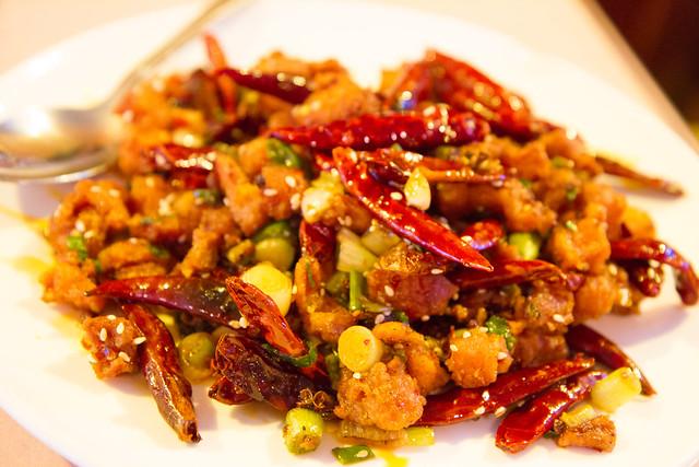 Chong qing chicken, Famous Sichuan