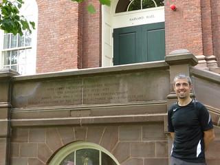 Javi en Harvard