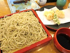 Soba Noodle with Shrimp Tempura @Sarashina-Horii,…