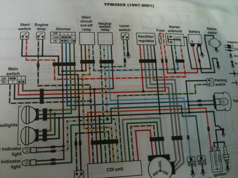 Wiring Diagram For Yamaha Warrior 1700