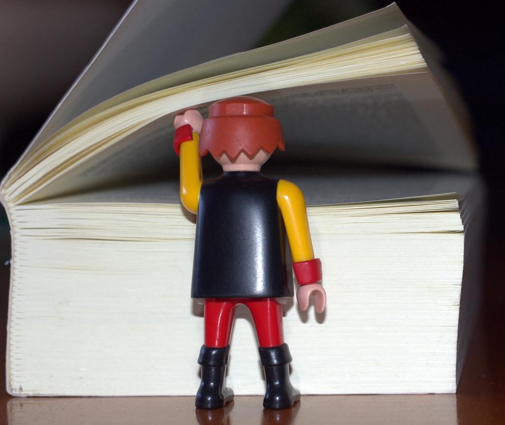 cosas, marcapáginas, libros, juguetes