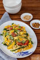 Zucchini Mango Salad Thai Style (0127)