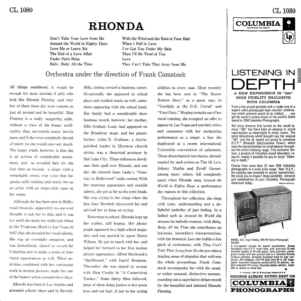 Rhonda Fleming - Rhonda
