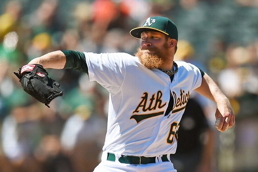 July 7, 2014 - UVA alum Sean Doolittle for earns his first career MLB All-Star Game nod! Sean has 13 saves for the Oakland Athletics on the season. He has struck out 61 batters and walked only two in 42.1 innings pitched.