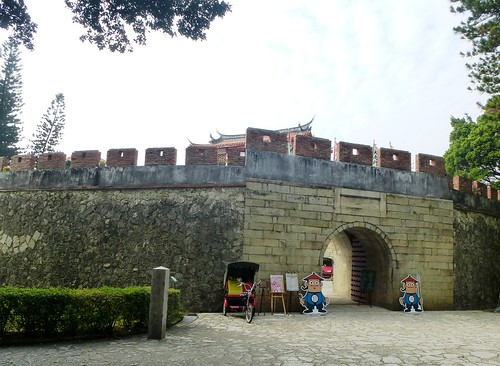 Taiwan-Tainan-Great South Gate (2)