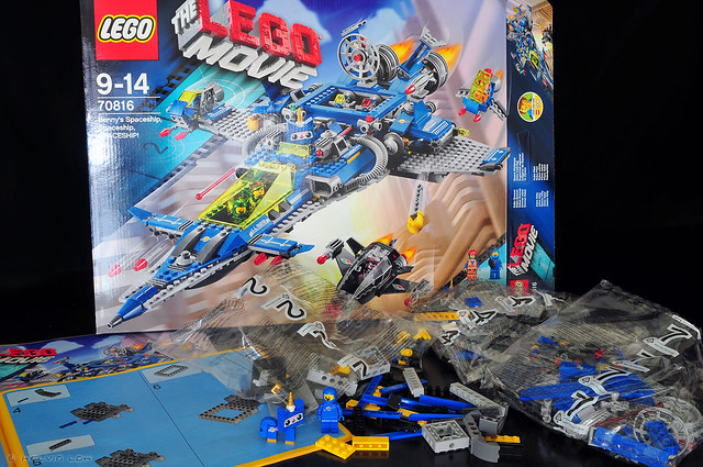 Lego 70816 Benny's Spaceship