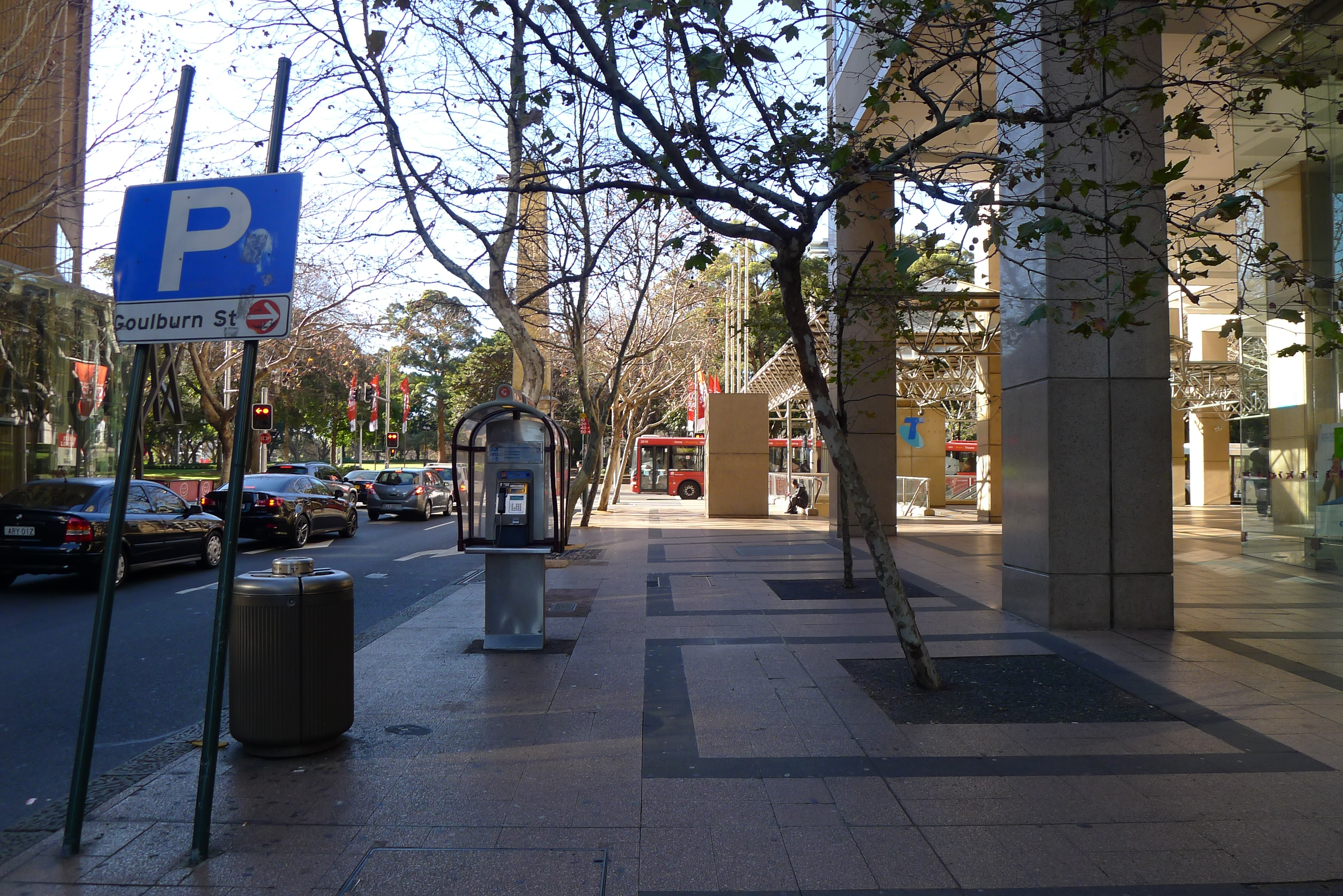 Sydney Pedestrian Road