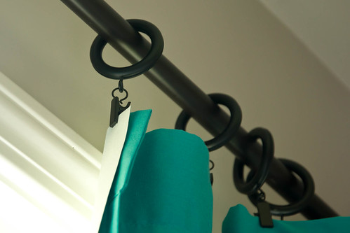 No Sew DIY Blackout Curtains