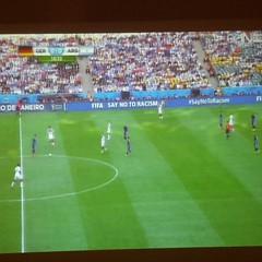 Germany very Argentina