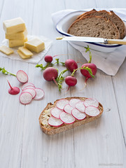 Butter, Radishes & Sourdough
