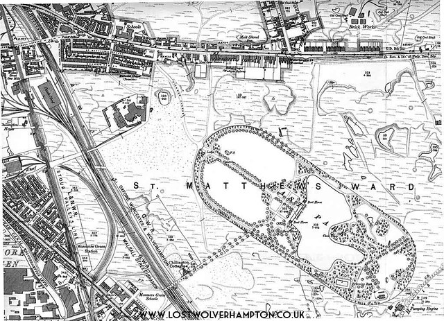 East Park Map Circa 1901