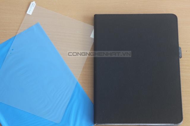Bao da và dán màn hình Sony Xperia Tablet S mỏng ,cao cấp hiệu IBuffalo